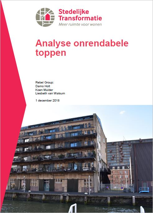 Cover analyse onrendabele toppen